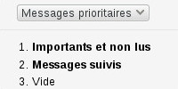 email boite prioritaire Gmail