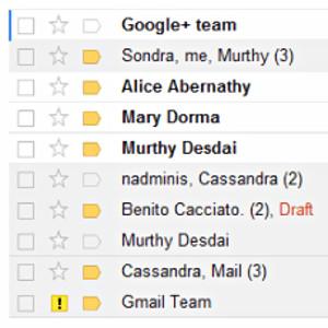 email expéditeur