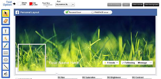 Facebook amélioration photo couverture