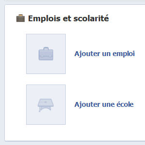 Facebook profil informations