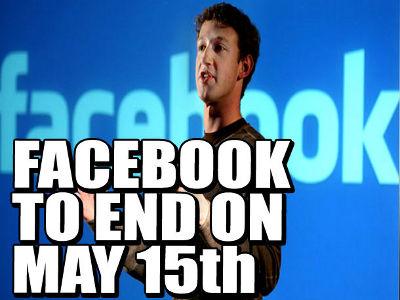 Rumeur Facebook va fermer