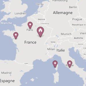 Créer une carte du monde interactive avec les endroits qui te sont chers