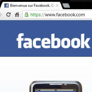 Facebook connexion sécurisée