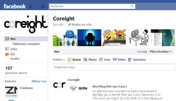 Profil Facebook