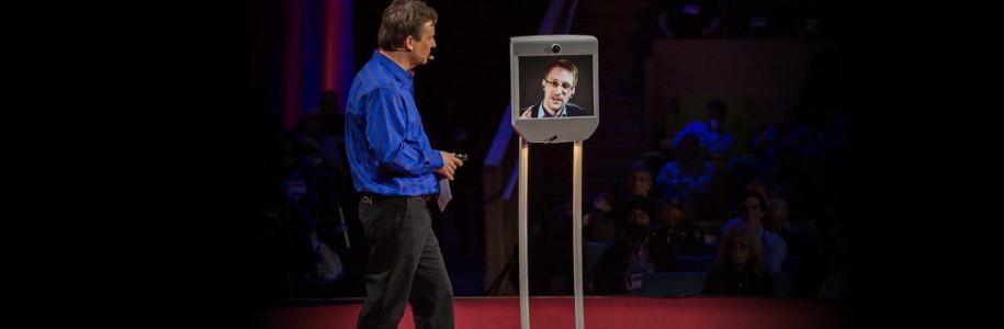 """""""Voici comment nous reprendrons l'Internet"""" Edward Snowden, TED2014"""