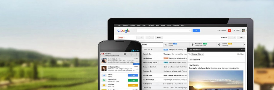 Prends le contrôle des nouveaux onglets de Gmail