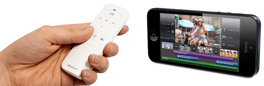 [Test] Novodio Bluecon.i, télécommande multimédia bluetooth (un modèle à gagner !)
