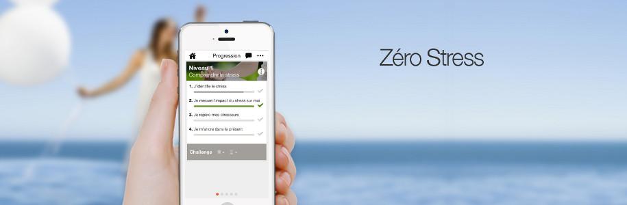 Une application mobile pour mieux gérer son stress