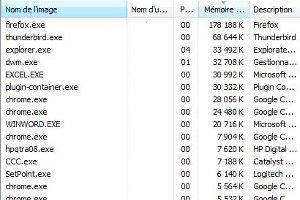 Firefox mémoire