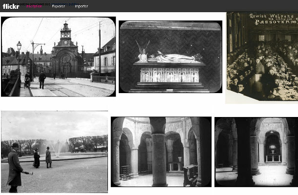 Flickr histoire et archives The Commons