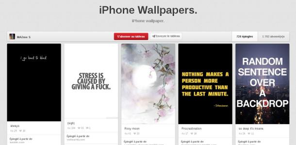 Fond d'écran mobile inspiration