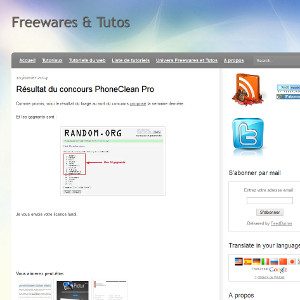 Freewares & Tutos