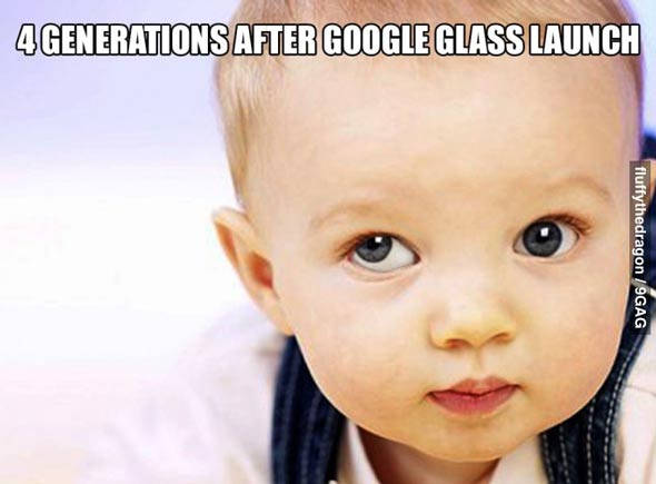 Fun Google Glass évolution