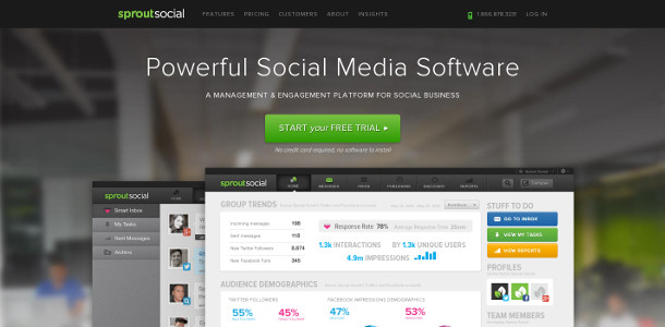 Monitorer sproutsocial