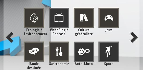 GBA catégories