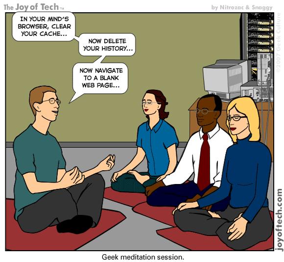 Méditation geek