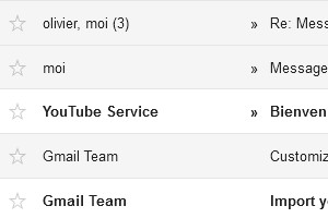 Gmail messages personnels