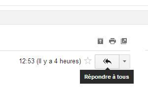 Gmail répondre à tous