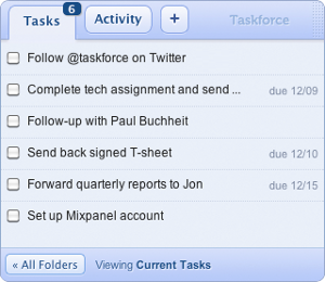 Gmail TaskForce