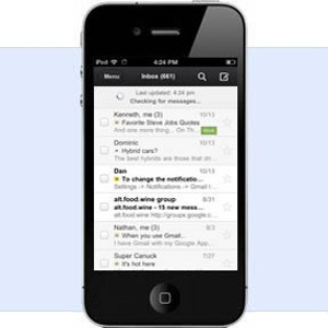 Gmail iOS iPhone iPad