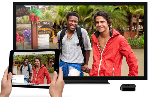 Google chromecast apple tv