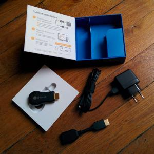 Google chromecast boite