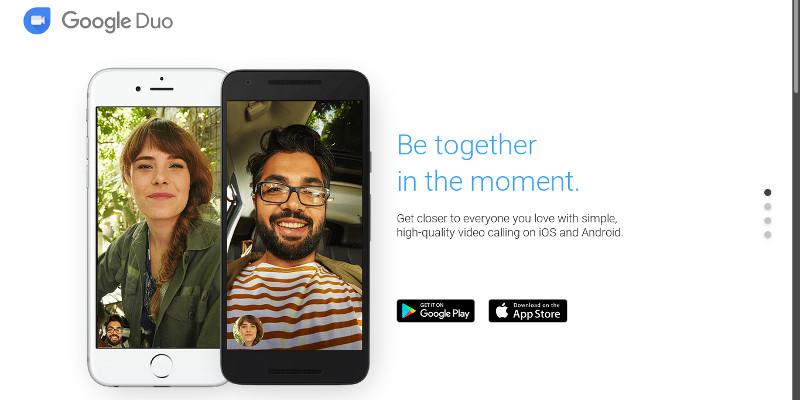 Lanc Lt Dernier Google Duo A Clairement Pour Ambition De Concurrencer Le FaceTime DApple Proposant Une Application Chat Vido Disponible