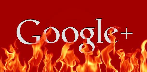Google+ en enfer