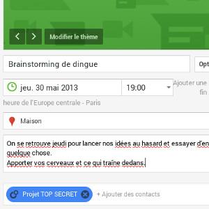 Google+ gestion de projet