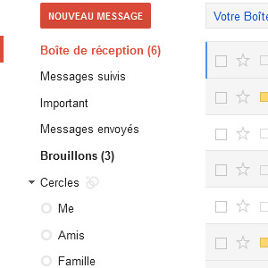 Google+ gmail cercles