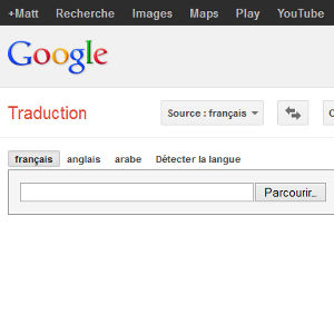 Google traduction document