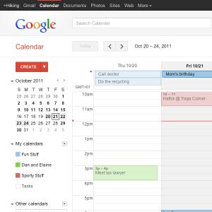 Google Agenda hors ligne