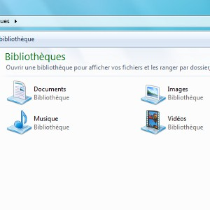 Google Drive bibliothèques