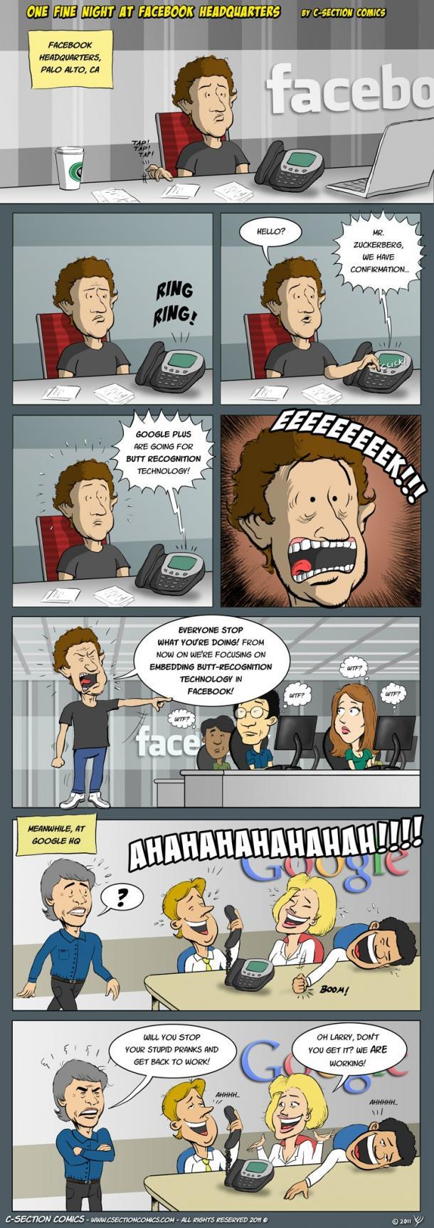 Une nuit au QG de Facebook
