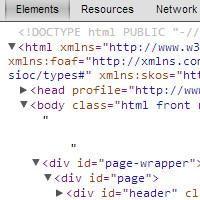 Chrome outils de développement