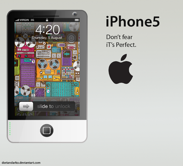 iPhone 5 Mac inspiration