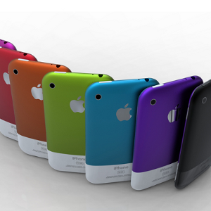 iPhone couleurs