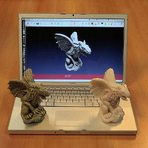 Impression 3D statuette