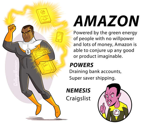 Internet Justice League : Amazon