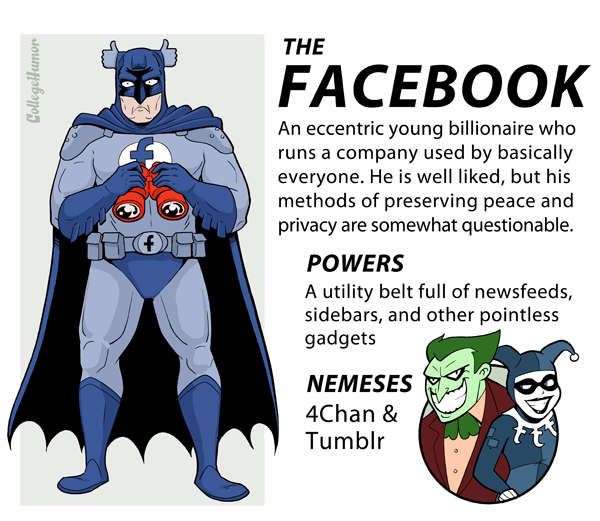 Internet Justice League : Facebook
