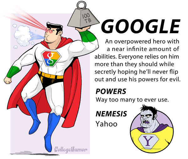 Internet Justice League : Google