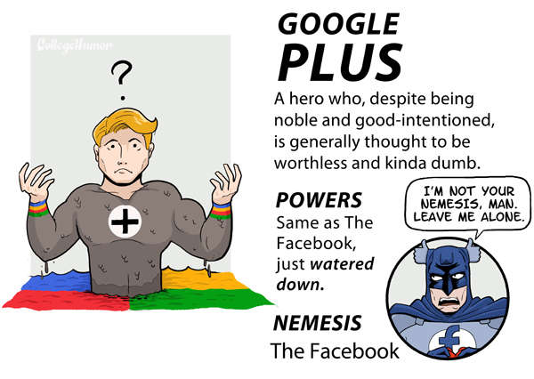 Internet Justice League : Google+