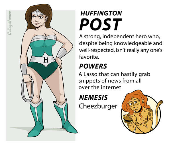 Internet Justice League : Huffington Post