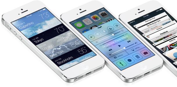 Nouveautés iOS 7