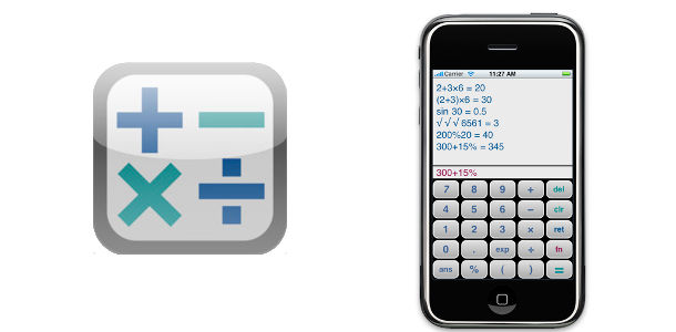 Calc iPhone