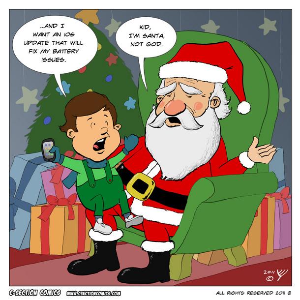iPhone Joyeux Noël