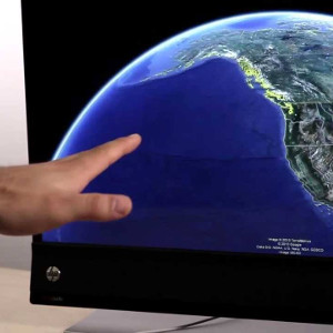 Leap Motion Google Earth