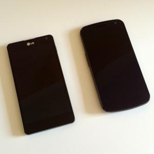 LG Optimus G VS Samsung Galaxy Nexus