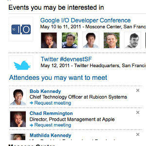 LinkedIn événements