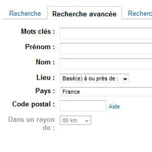 LinkedIn recherche